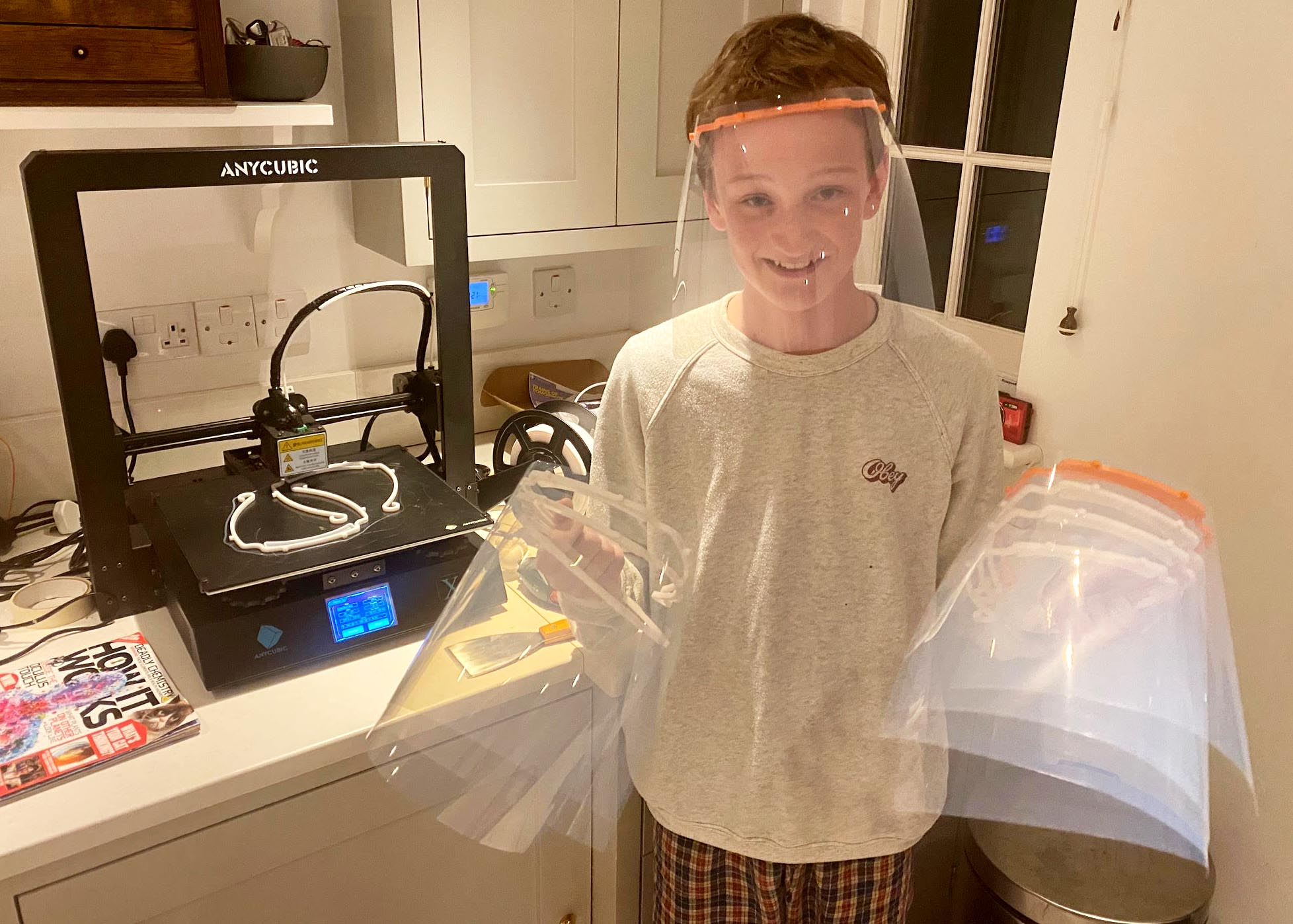Camper Creates PPE for NHS