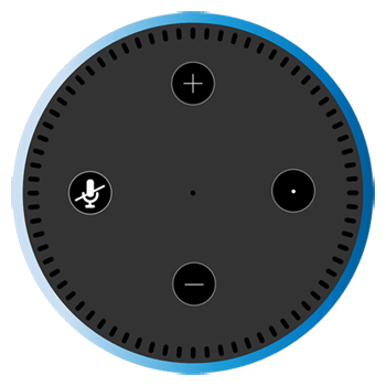 Graphic of Amazon Echo Dot