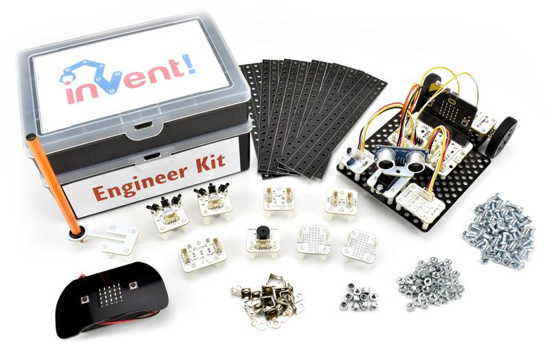 Invent! robotics construction kit